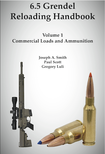 Cover for 6.5 Grendel Reloading Handbook Volume !