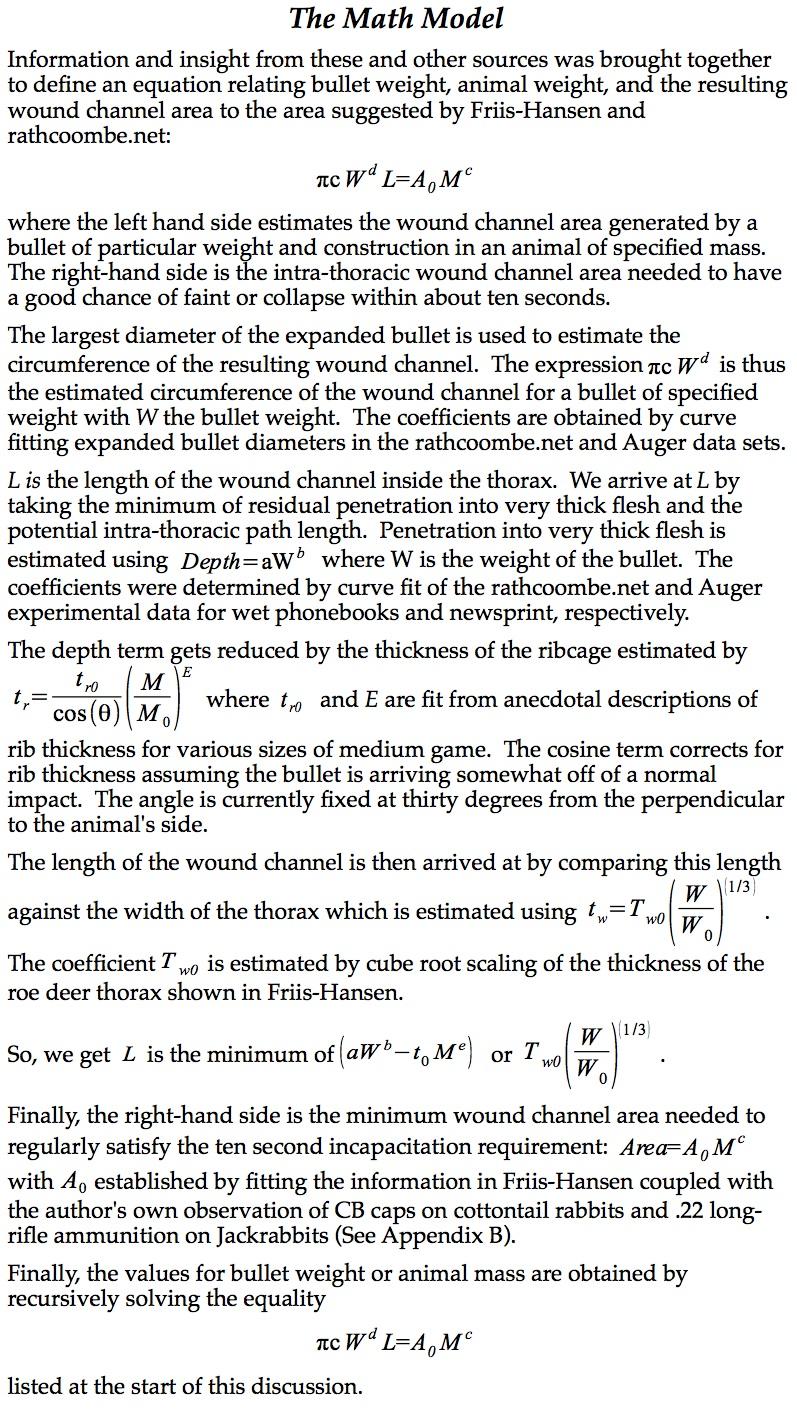 Figure A-2 Math Model